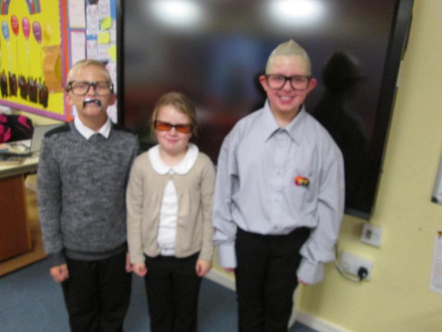 Can you guess which teachers we are?