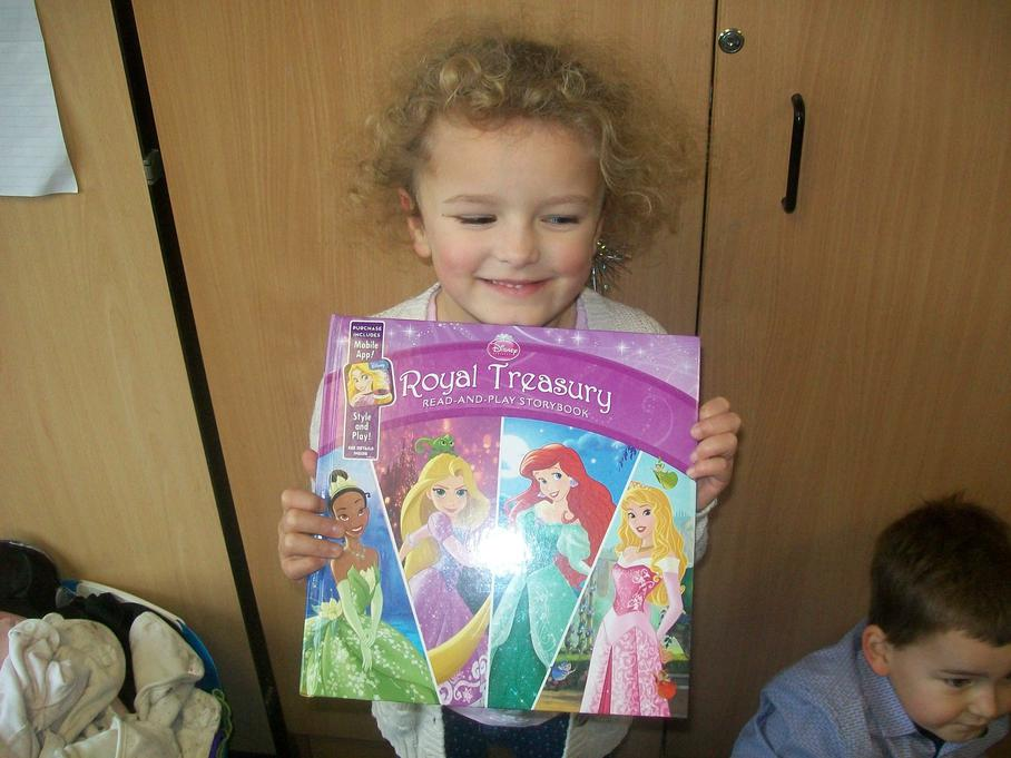 My favourite princess is in this book - Cinderella