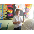 Lewis was surprised at how strong his magnet was!