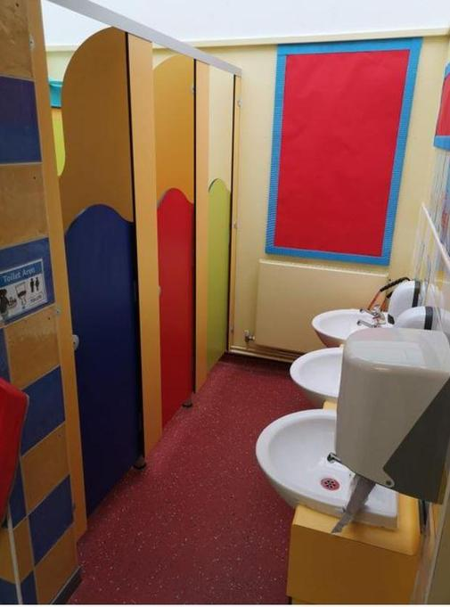 EYFS Toilets