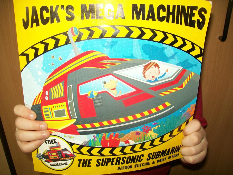 I'm going to build machines just like Jack!