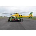 Pupil Council Visit Air Ambulance