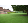 Our grassed play area