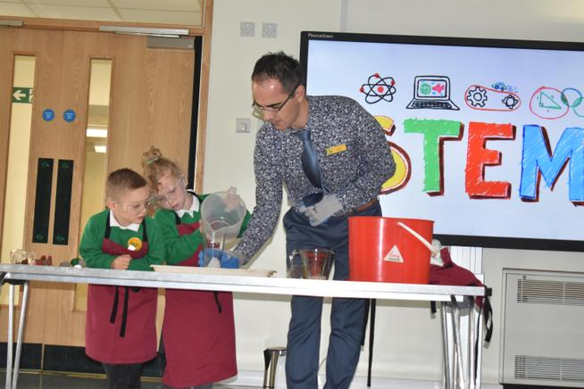 STEM Assembly Launch