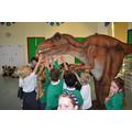 Meeting a T Rex
