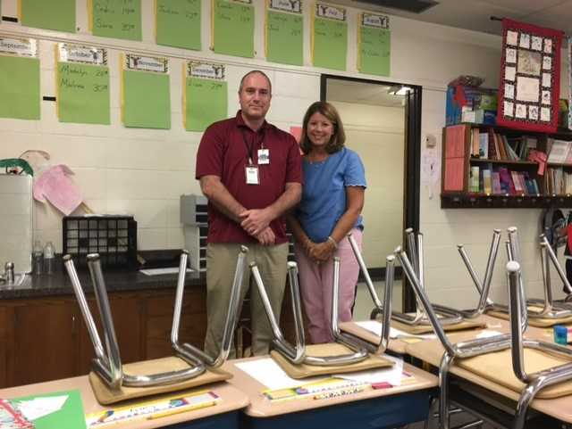 Mrs Pagani and Mr Crahen Second Grade Teachers