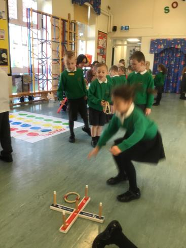 Year 1  - Grandparent's Toy Day