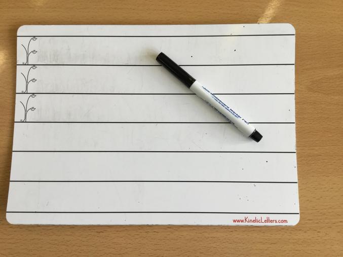 Kinetic Letters Whiteboard    £3.62