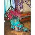 A Mayan headdress