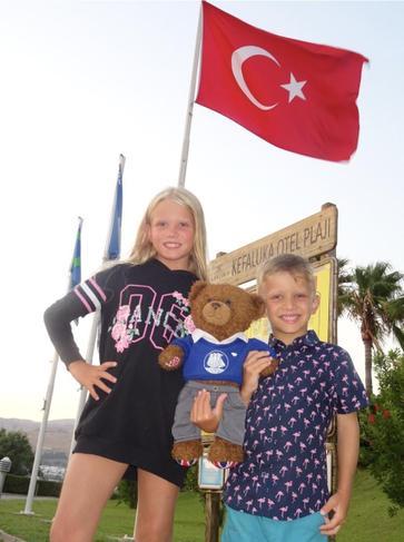 Barnaby went to Turkey