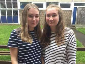 Congratulations Robyn and Sophie