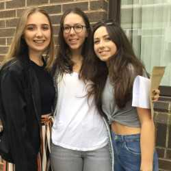 Libby, Kate and Ella:  3 offers from Exeter!