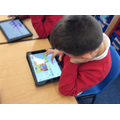 Year 1 programming animations using the ScratchJr app of a hot or cold setting