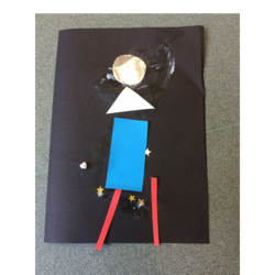 We will also use shapes to make rocket pictures.