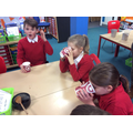 Tasting the original hot chocolate recipe