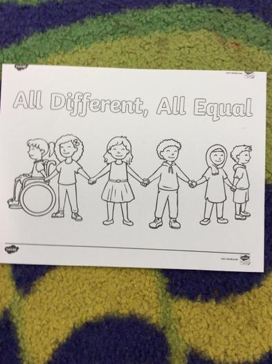 Anti-bullying colouring competition