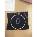 We embroidered our own star sign.