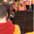 We visited the Orchard to set up experiments!