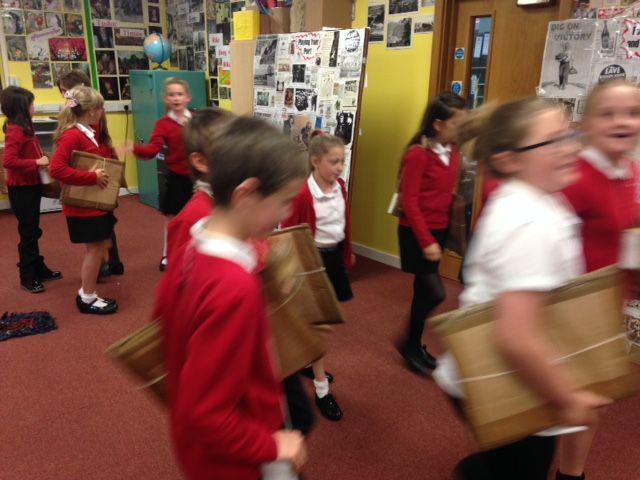 On our journey as evacuees