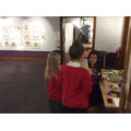 Our museum curators had work experience!