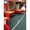 We created rockets and investigated forces.