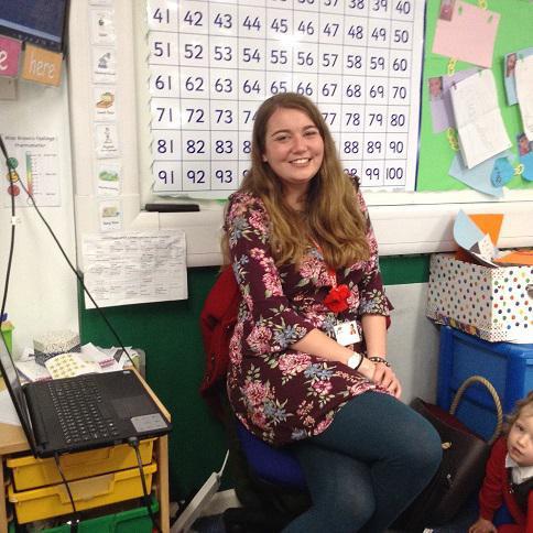 Miss Morgan Brown- Class Teacher