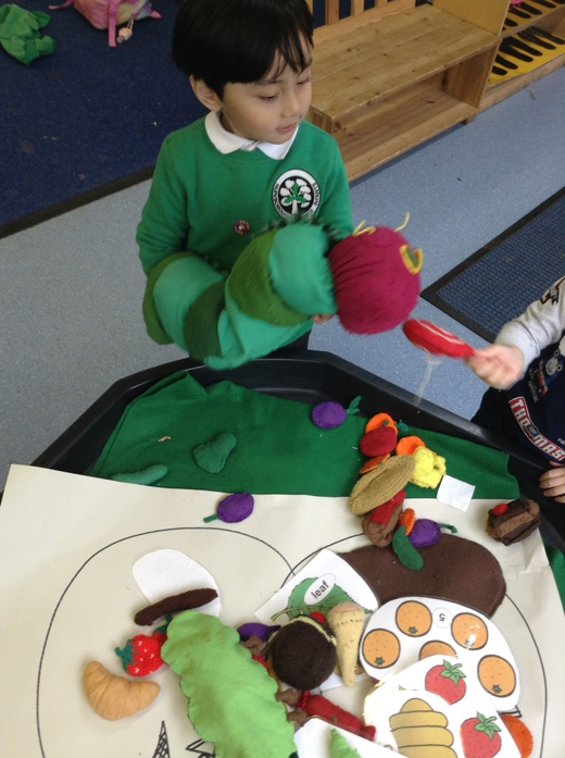 We retold the story using props