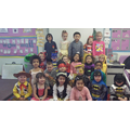Dressing up in our favourite book characters!