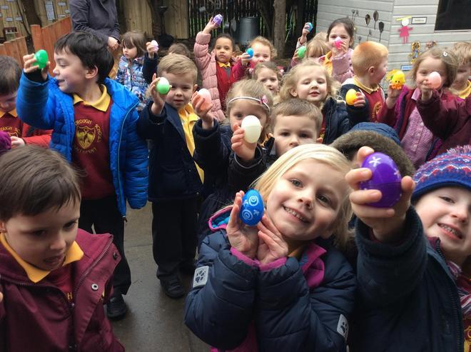 Easter egg hunt.  Have we all got one?