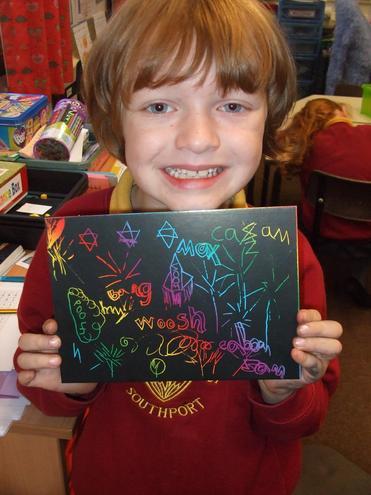 Very proud boy!