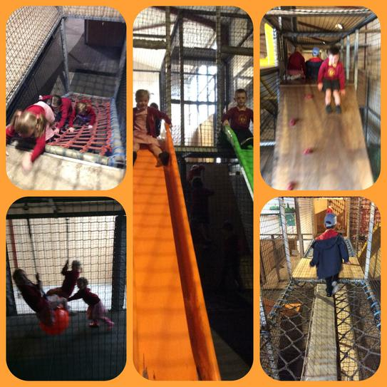 Climb and Slide at Farmer Teds
