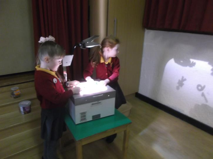Shadows during Science and Technology Week.