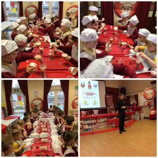 Junior chef was great fun!