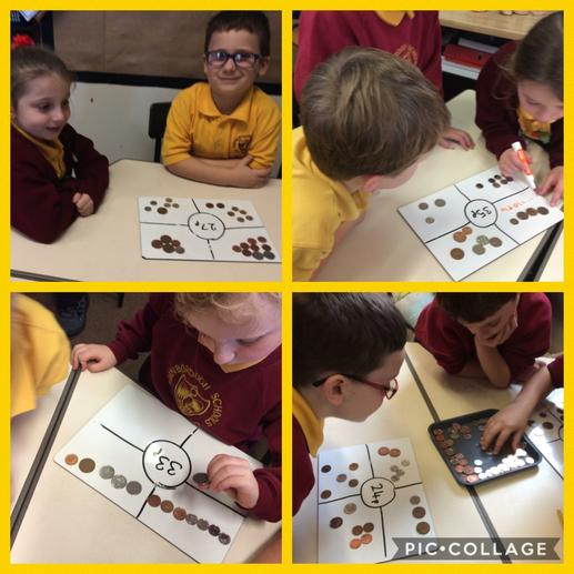 Making amounts with different coins