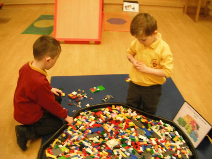 Exploring with lego