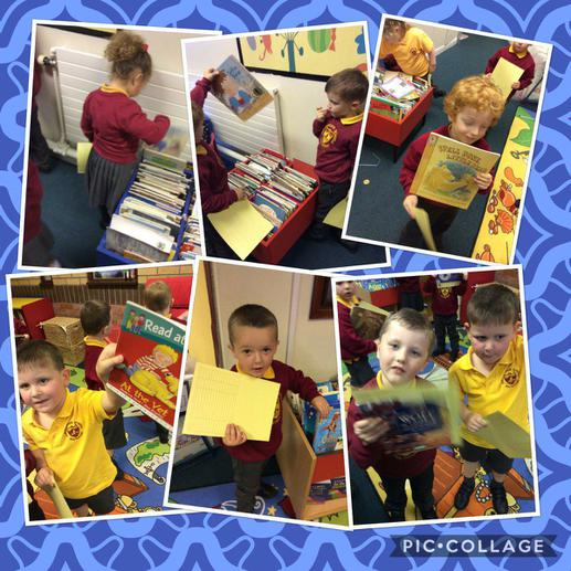 Library time!