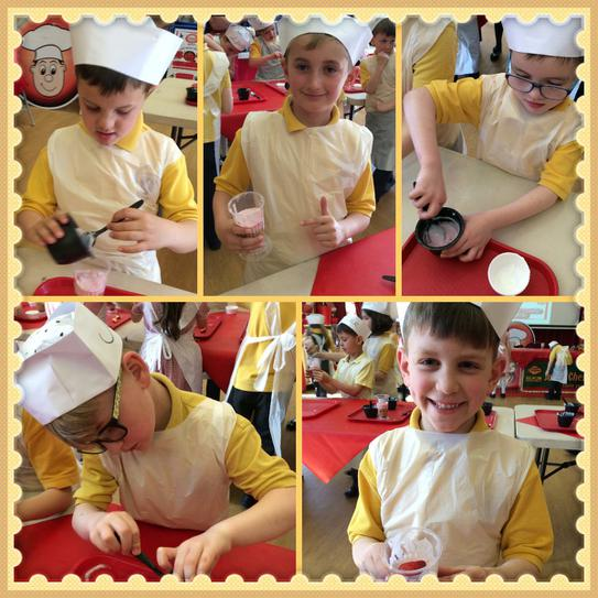 Another successful visit from Junior Chef!