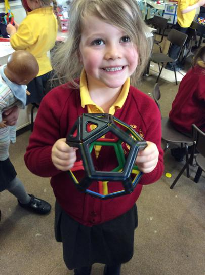 Look what shape I have made!