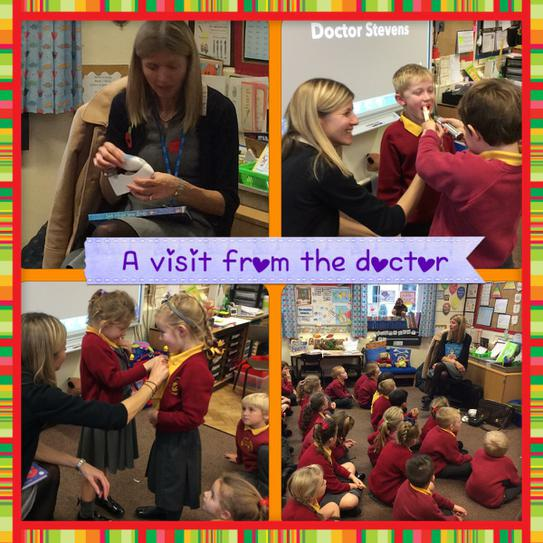 We listened carefully to the doctor.
