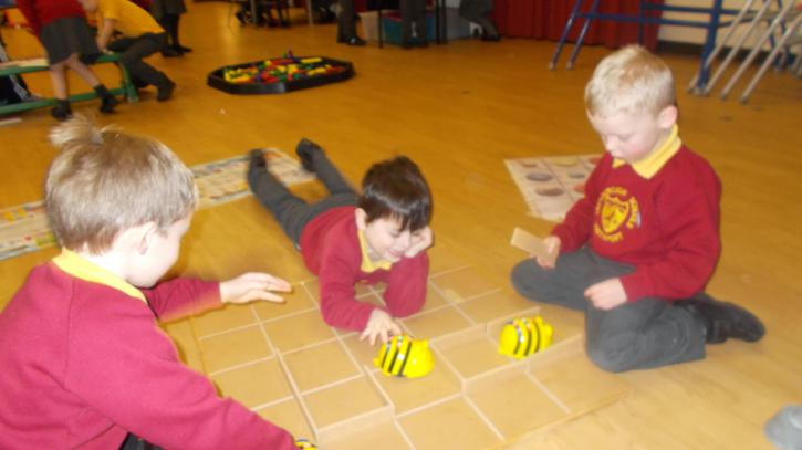Program the Beebots!