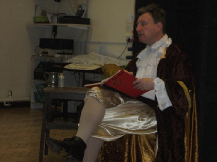 Samuel Pepys came to visit to talk about his diary