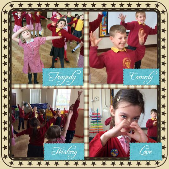 We loved learning about Shakespeare!