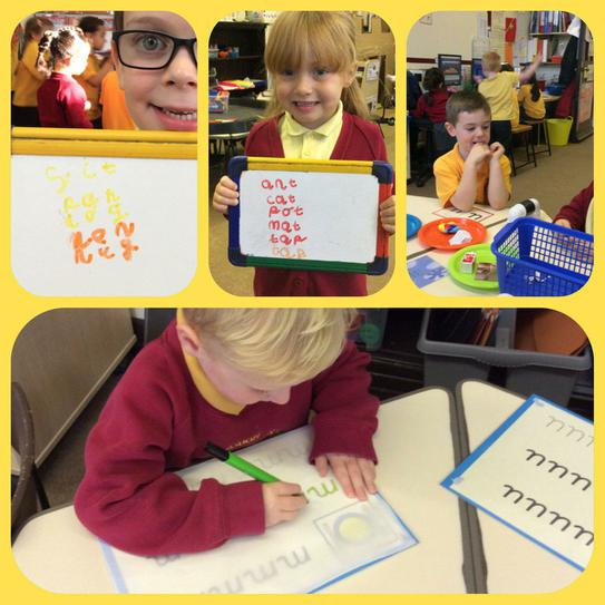 Phonics and letter/ word writing