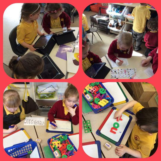 A busy time writing and counting!