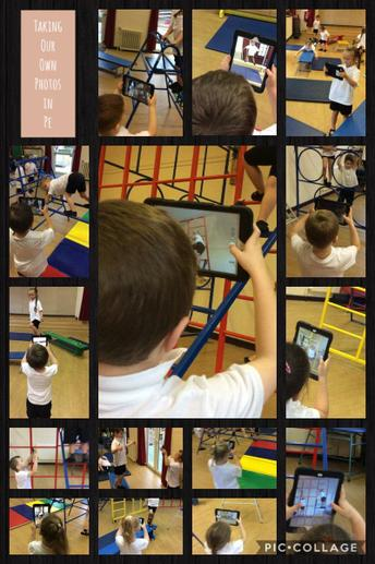 Taking our own photographs in PE