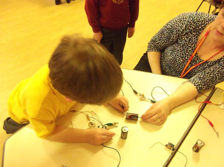 Investigating electricity and circuits