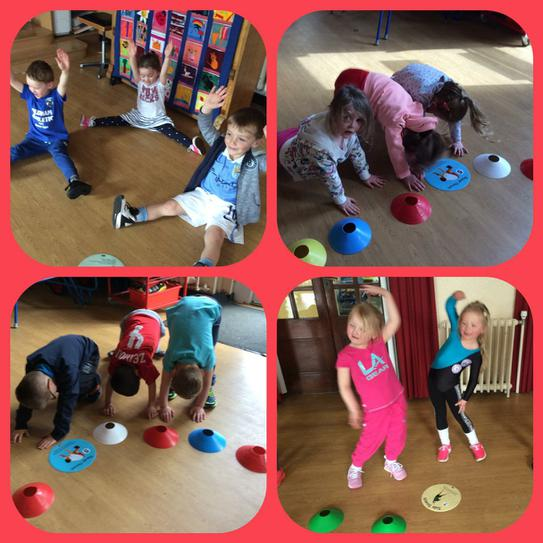 Working hard at our Sports Relief circuit