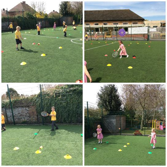 A tennis taster session!