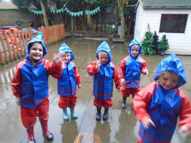 Fun in the rain!
