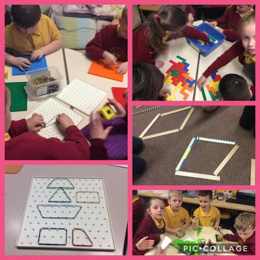 Exploring shape, pattern and symmetry.